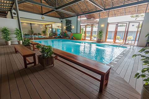 Build your own pool -indoor pool