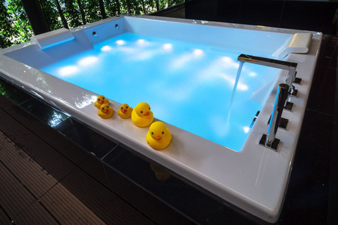 Build your own pool - Spa Pool