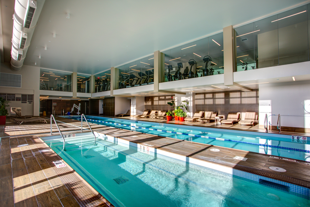 Hotel & Gym swimming pools